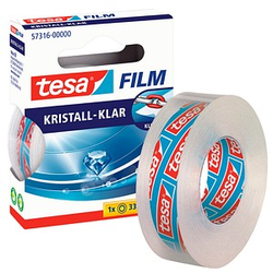 tesa Klebefilm kristall-klar 15,0 mm x 33,0 m 1 Rolle