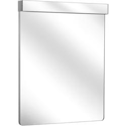 Keuco Lichtspiegel ELEGANCE 700 x 820 x 66 mm, Leuchtmittel weiß/weiß