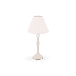 relaxdays Nachttischlampe Kristall Tischlampe rosa