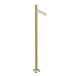 Axor Uno Waschtischarmatur 45037930 Polished Brass, bodenstehend, mit Zerogriff