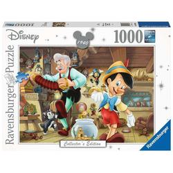 Ravensburger Puzzle Disney Pinocchio Puzzle Collectors Edition, Puzzleteile bunt