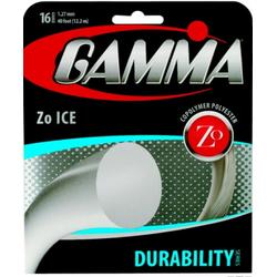 1,27mm - Tennissaite - Gamma Zo Ice- 12,20m