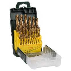 Metallbohrer-Set Titanium. 25-teilig