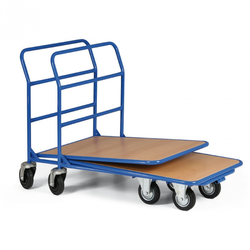 Stapelbarer plattenwagen
