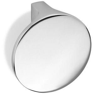 SO-TECH® Möbelknopf, Schrankknopf MIRAGE Ø 50 mm Edelstahloptik oder Chrom BA 16 mm Möbelknauf Knopf Knauf incl. Schraube