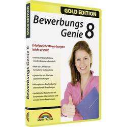 Markt & Technik Bewerbungs Genie 8 Vollversion, 1 Lizenz Windows Bewerbungs-Software