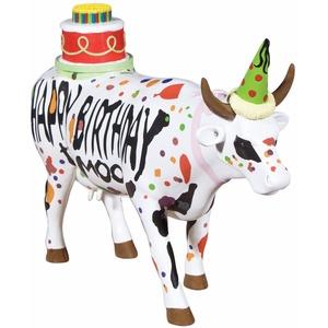 Happy Birthday to Moo - Cowparade Kuh Large