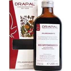SPITZWEGERICHBLÄTTER Bio Pflanzensaft Drapal