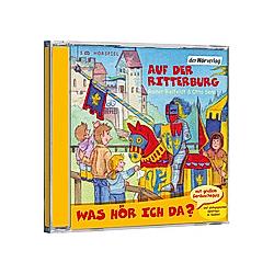 Was hör ich da? Auf der Ritterburg  Audio-CD - Hörbuch