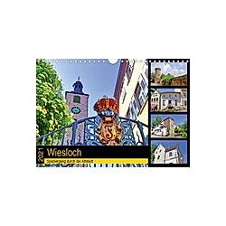 Wiesloch - Spaziergang durch die Altstadt (Wandkalender 2021 DIN A4 quer)