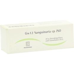 JSO Gw 12 Sanguinaria cp Globuli 20 g