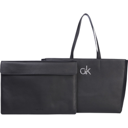 Calvin Klein Shopper Bag in Bag W/Laptop Pouch black