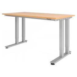 RINO 16 S | 160x80 | Schwerlast-Tisch - Buche