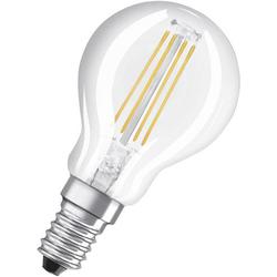 OSRAM LED EEK A++ (A++ - E) E14 Tropfenform 4W Warmweiß (Ø x L) 45.0mm x 77.0mm 1St.