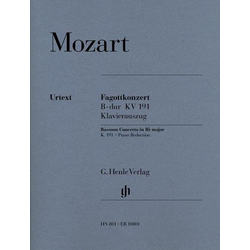 Konzert für Fagott und Orchester B-dur KV 191
