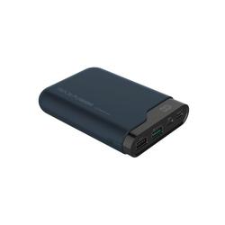 Realpower PB-10000 PD 10.000 mAh Powerbank, schwarz, Quick Charge 3.0, USB-C Ladegerät / Ersatzakku für PD Notebooks Powerbank