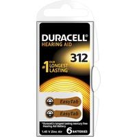 Duracell Easy Tab 312 6 Stück