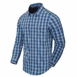 Helikon Tex Covert Concealed Carry Shirt ozark blue plaid, Größe 3XL
