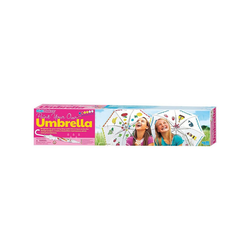 HCM KINZEL Malvorlage KidzMaker - Regenschirm-Malset