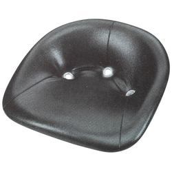 Sitzschale aus Metall, gepolstert - wetterfest
