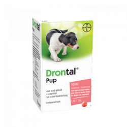 Drontal Pup Ontwormingsmiddel  5 x 50 ml