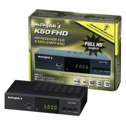 MORGAN morgan´s K50 Full HD DVB-C Kabel-Receiver digital Kabel-Receiver
