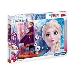 Clementoni® Puzzle Puzzle 104 Teile Jewels Puzzle Die Eiskönigin 2, Puzzleteile