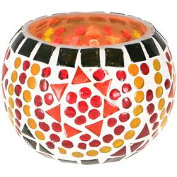Guru-Shop Windlicht Mosaik Windlicht Glas 9 cm - 3