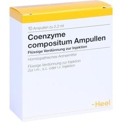 COENZYME COMPOSITUM Ampullen 10 St.