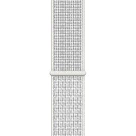Apple Watch Series 4 Nike+ GPS + Celllular 40mm Aluminiumgehäuse silber mit Nike Loop Sportarmband summit white