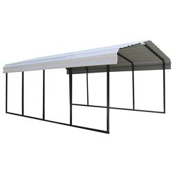 "ShelterLogic Carport ""Neapel"",schwarz/grau,22,57 m²"