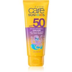 Avon Care Sun + Kids Sonnencreme für Kinder SPF 50 wasserbeständiger 75 ml
