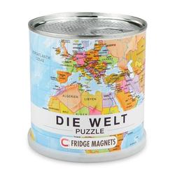 Welt puzzle magnets