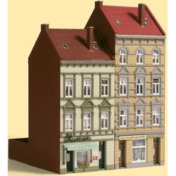 Auhagen Modelleisenbahn-Gebäude Stadthäuser Schmidtstraße 13/15, Made in Germany bunt Kinder Schienen Zubehör Modelleisenbahnen Autos, Eisenbahn Modellbau