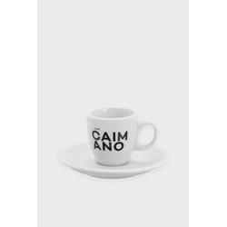 Caffe Caimano Caffè Espressotasse mit Untertasse