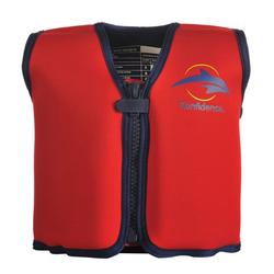 Konfidence Jacket Schwimmweste rot/gelb