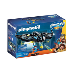Playmobil® Konstruktions-Spielset PLAYMOBIL®70071 THE MOVIE Robotitron mit Drohne
