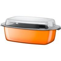 Orange Schlemmerkasserolle 39 cm