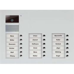 TCS Tür Control Video-Außenstation Color dreispaltig, f.18WE AVU