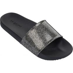 ZAXY SNAP GLITTER SLIDE Sandale 2018 glitter black - 41/42