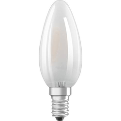 LED RETRO matt CLB40 4W/827 E14
