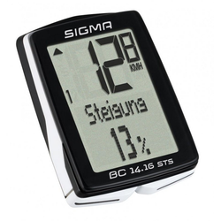 SIGMA Fahrradcomputer Sigma Fahrradcomputer Topline BC 14.16 STS