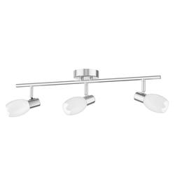 Deckenleuchte LUPI, dreiflammig inkl. E14 LED Lampen je 400lm warm-weiß