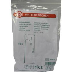 Wattestäbchen 10-11 mm Plastic