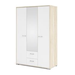 ebuy24 Kleiderschrank Holle Kleiderschrank 2 Türen, 2 Schiebetüren und 8