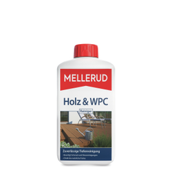 MELLERUD Holz & WPC Reiniger, Das Beste für edles Holz, 1000 ml - Flasche