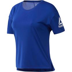 Reebok T-Shirt Damen in cobalt, Größe M cobalt M