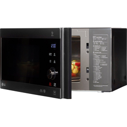 LG Mikrowelle MH 6565 CPB, Mikrowelle, Grill, 25 l