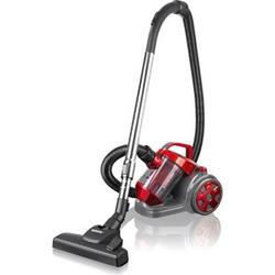 CLEANmaxx Zyklon-Staubsauger 700W rot/grau