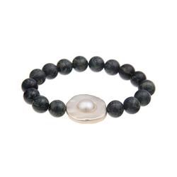 leslii Armband, im edlen Design schwarz Damen Perlenarmbänder Armbänder Schmuck Armband